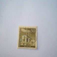 Sellos: SELLO BERLIN 50 1956 DEUTSCHE BUNDESPOST. Lote 261942345