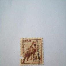 Sellos: SELLO JAPON, 8, FAUNA CABRA, AÑO 1952. Lote 261942565
