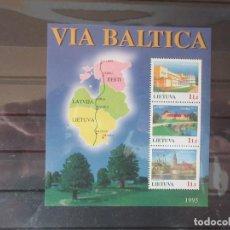 Sellos: SELLOS. EMISIÓN CONJUNTA ESTONIA, LETONIA, LITUANIA 1995. Lote 262997960