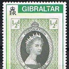 Sellos: GIBRALTAR 507, CENTENARIO DEL SELLO GIBRALATERÑO, NUEVO ***. Lote 263564150