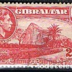 Sellos: GIBRALTAR 111 (AÑO 1938), ZONA NORTE DE LA ROCA, USADO. Lote 263726660