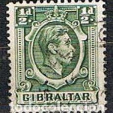 Sellos: GIBRALTAR 105 (AÑO 1938), REY GEORGES VI, USADO. Lote 263728140