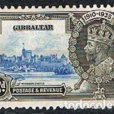 Sellos: GIBRALTAR 98 (AÑO 1935), REY GEORGES V, REGENCIA, SIN MATASELLAR. Lote 263728530