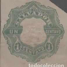 Sellos: LOTE C2-SELLO PROCEDENTE DE ENTERO POSTAL SALVADOR. Lote 269599043