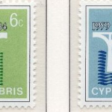 Sellos: CHIPRE, 1984 STAMP , MICHEL 611-612. Lote 270002168