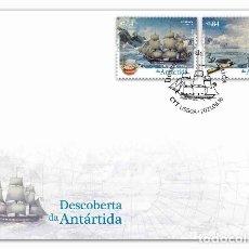 Sellos: PORTUGAL & FDC DESCUBRIMIENTO DE LA ANTÁRTIDA 2021 (3427). Lote 270092103
