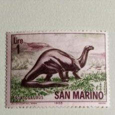 Sellos: SELLOS DINOSAURIOS S MARINO - M9. Lote 270415278