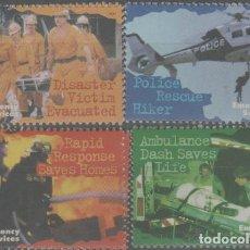 Sellos: LOTE(14) SELLOS AUSTRALIA SERIE EMERGENCIAS NUEVOS BOMBEROS. Lote 271529048