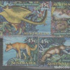 Sellos: LOTE(14) SELLOS AUSTRALIA FAUNA NUEVOS. Lote 271529098
