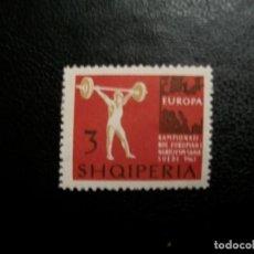 Sellos: /18.07/-ALBANIA-1963-3 L. EN NUEVO(**MNH). Lote 276187498