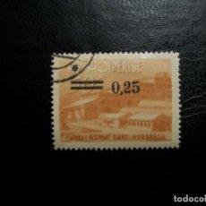 Sellos: /18.07/-ALBANIA-1965-25 G. S.50 L. EN USADO/º/. Lote 276188423