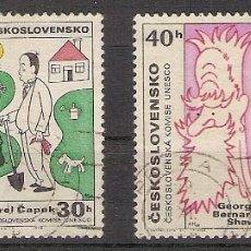 Sellos: CHECOSLOVAQUIA - 1968 - YVERT 1679/82 USADOS. Lote 276820333