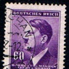 Sellos: BOHEMIA Y MOLDAVIA // YVERT 81 // 1942 ... USADO. Lote 276923193