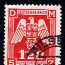 Sellos: BOHEMIA Y MOLDAVIA // YVERT 19 SERVICIO // 1943 ... USADO. Lote 276923668