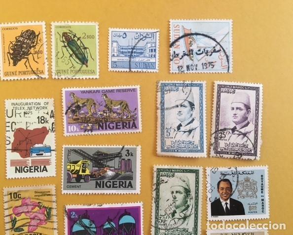 Sellos: 206 Sellos usados Europa, ASIA. Africa y América (desglose en texto) - Foto 2 - 277186648