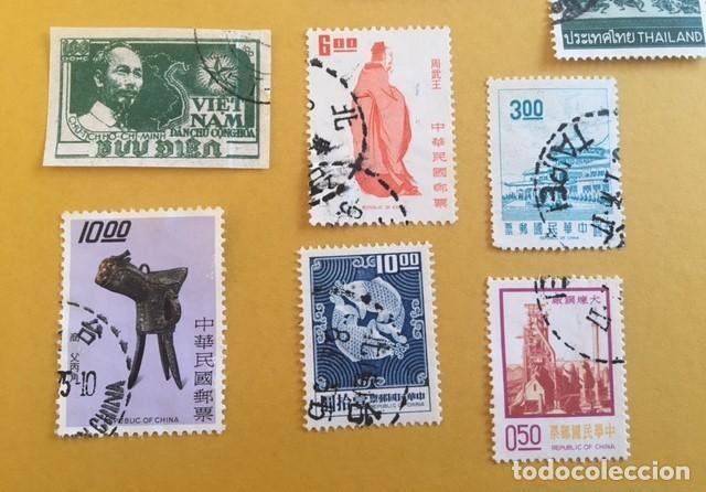 Sellos: 206 Sellos usados Europa, ASIA. Africa y América (desglose en texto) - Foto 6 - 277186648