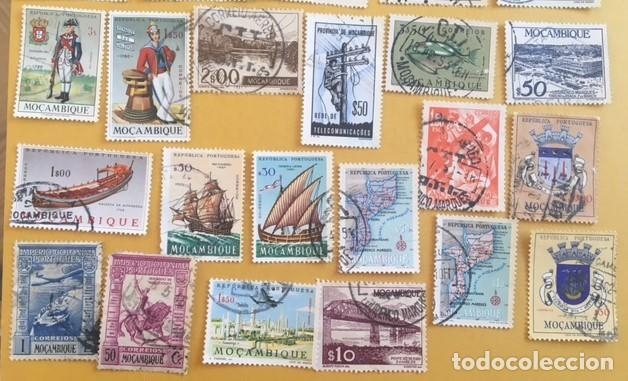 Sellos: 206 Sellos usados Europa, ASIA. Africa y América (desglose en texto) - Foto 8 - 277186648