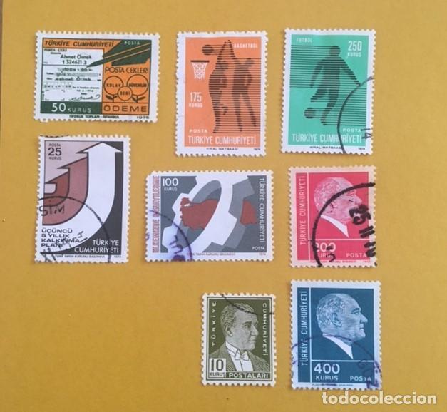 Sellos: 206 Sellos usados Europa, ASIA. Africa y América (desglose en texto) - Foto 17 - 277186648