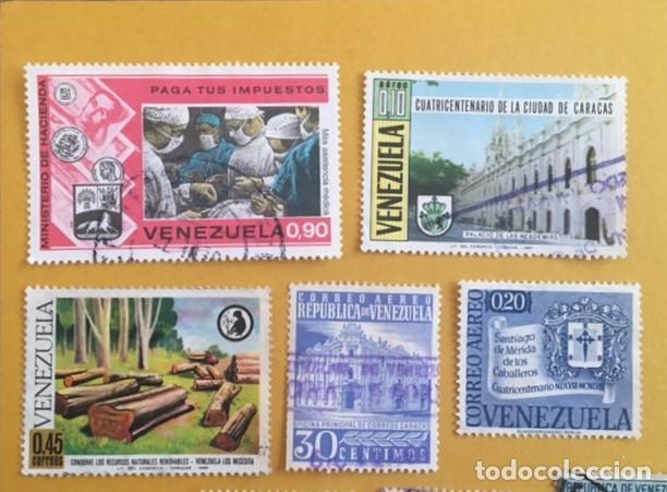 Sellos: 206 Sellos usados Europa, ASIA. Africa y América (desglose en texto) - Foto 19 - 277186648
