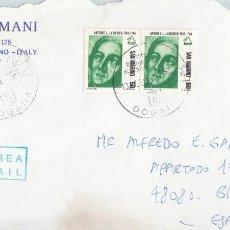 Sellos: CORREO AEREO: SAN MARINO 1990. Lote 277212073