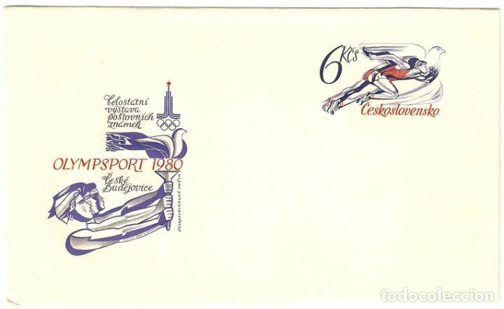 SOBRE 1E IMPRESO DE CHECOSLOVAQUIA AÑO 1980 (Sellos - Extranjero - Europa - Otros paises)