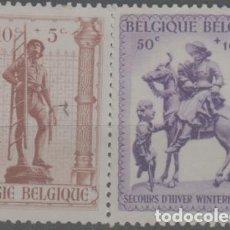 Sellos: LOTE X-SELLOS BELGICA. Lote 277580383