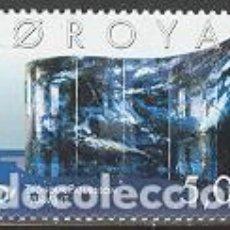 Sellos: SELLO USADO DE FEROE 2002, YT 417. Lote 277595303