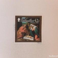 Sellos: AÑO 2011 GIBRALTAR SELLO USADO. Lote 278681508