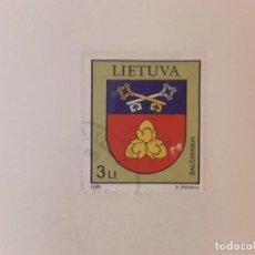 Sellos: AÑO 2009 LITUANIA SELLO USADO. Lote 278682233