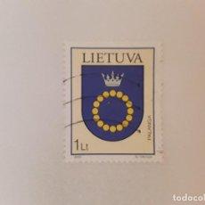 Sellos: AÑO 2003 LITUANIA SELLO USADO. Lote 278682248