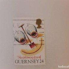 Sellos: GUERNSEY SELLO USADO. Lote 278682738
