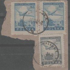 Francobolli: LOTE RJ- SELLOS POLONIA CORREO AEREO. Lote 283828773