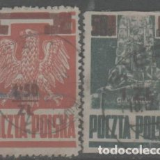 Francobolli: LOTE RJ- SELLOS POLONIA. Lote 284309473
