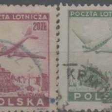Francobolli: LOTE RJ-SELLO POLONIA CORREO AEREO. Lote 284377783
