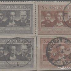 Francobolli: LOTE RJ- SELLOS POLONIA. Lote 284711268
