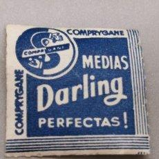 Sellos: COMPRYGANE MEDIAS DARLING PERFECTAS PUBLICIDAD. Lote 284769018