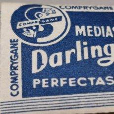 Sellos: COMPRYGANE MEDIAS DARLING PERFECTAS PUBLICIDAD. Lote 284769138