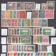 Sellos: LETONIA. 1918 - 1941, COLECCIÓN DE SELLOS NUEVOS Y USADOS, ( VALOR EN CATALOGO +483€.). Lote 286004663