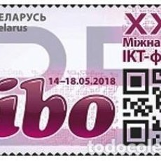 Sellos: BIELORRUSIA 2018 XXV FORO INTERNACIONAL TIC TIBO. MNH** 1251. Lote 287928263