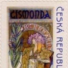 Sellos: SELLO USADO DE R.CHECA 2010, YT 563. Lote 287995953