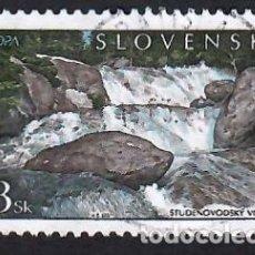 Sellos: ESLOVAQUIA (2001). EMISIÓN EUROPA C.E.P.T. YVERT Nº 346. USADO.. Lote 288106528