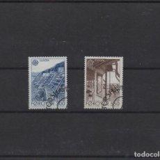 Sellos: SERIE COMPLETA USADA DE FEROE. TEMA EUROPA DE 1987. Lote 288387408