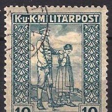 Sellos: BOSNIA Y HERZEGOVINA 1918 - SELLO DE CARIDAD - USADO. Lote 288468193