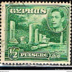 Sellos: CHIPRE // YVERT 135 // 1938-51 ... USADO. Lote 288558963