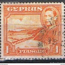 Sellos: CHIPRE // YVERT 137 // 1938-51 ... USADO. Lote 288559118