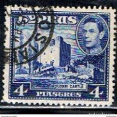 Sellos: CHIPRE // YVERT 139 B // 1938-51 ... USADO. Lote 288559353