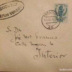 Sellos: O) ESPAÑA 1938, CENSURA MILITAR, CENSURA MILITAR, SEGUNDO ANIVERSARIO DE LA GUERRA CIVIL, MANO, LA F. Lote 288743823