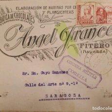 Sellos: O) ESPAÑA 1938, CENSURA MILITAR MORELIA, REINA ISABELLA I 30C, CRUZADA CONTRA EL FRÍO, SOLDADO, FABR. Lote 288744418