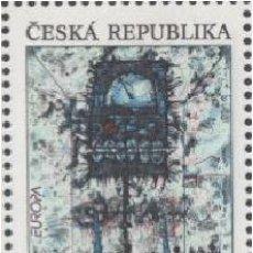 Timbres: SELLO USADO DE R.CHECA 1993, YT 5. Lote 289549358