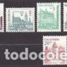 Timbres: SELLOS USADOS DE R.CHECA 1993, YT 14/ 21. Lote 289550468